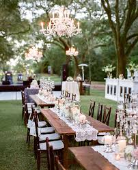 Gallery Rustic Chic Lanterns And Lace Wedding Tablescape