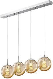 hws pendelleuchte glas glaskugel pendelle kristall kronleuchter modern hängeleuchte kugel hängele wohnzimmer design kreative höhenverstellbar