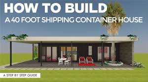 104 Building A Home From A Shipping Container How To Build In 7 Simple Steps Youtube