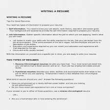 Basic Work Resume From Objective Fresh Secretary Examples