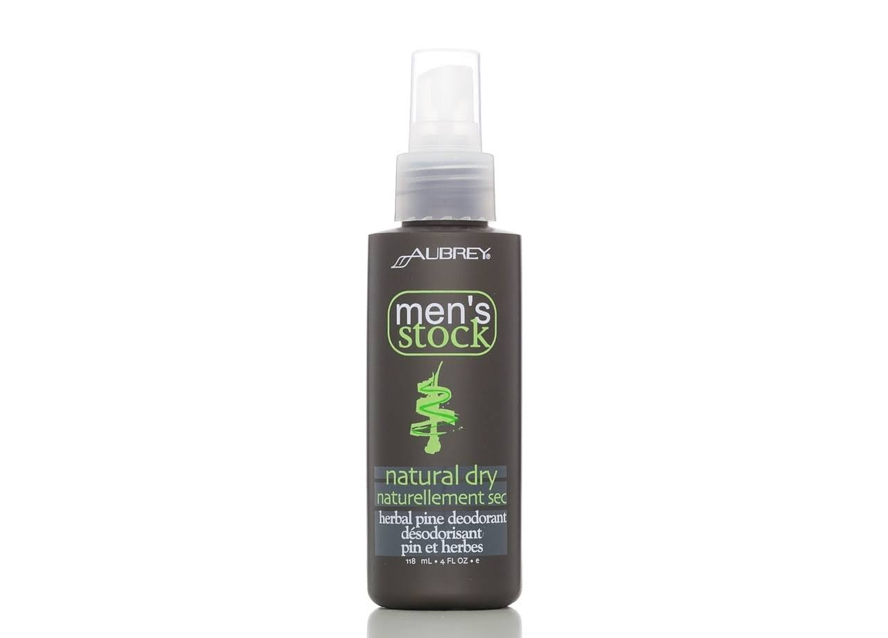 Aubrey Organics Men's Stock Natural Dry Deodorant