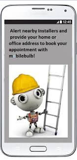 mobilebulb light bulb installers lighting proffesionals