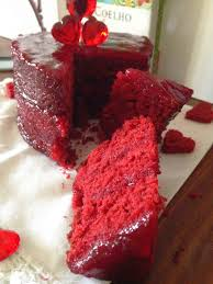 velvet cake oder simple gesagt roter samt herzkuchen