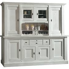 meuble cuisine vaisselier meuble cuisine vaisselier bahut vaisselier 4p blanc relooking de