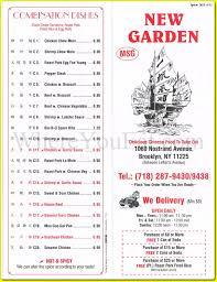 New Garden Chinese Restaurant in Prospect Lefferts Gardens