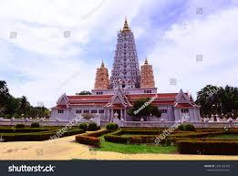 100 Banglamung Bodh Gaya Mahabodhi Sanctuary Wat Yannasangwararam Stock Photo Edit