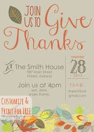 Free Halloween Potluck Invitation by Customizable Thanksgiving Invitation Thanksgiving Invitation