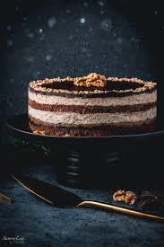 walnuss rum torte leckerei aus der slowakei savorylens