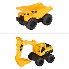 100 Caterpillar Dump Truck Toy CAT Tough Tracks Construction Crew Assorted BIG W