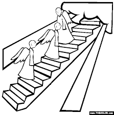 Jacobs Ladder Coloring Page