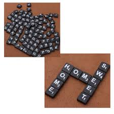 Scrabble Tile Value Change by Scrabble Plastic Alphabet Letter Tile 100pcs Pack Art U0026 Craft