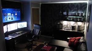 Stunning Design Gaming Bedroom