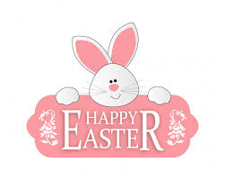 Easter Bunny Cute Clipart Free Stock Public Domain