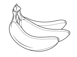 to see printable version of Bunch of bananas Coloring page