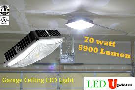 Led Garage Ceiling Lights Lowes Listed Light Suitable For Workshop