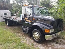 100 Tow Truck Flatbed 2000 International 4700 DT456E Rollback EBay Link