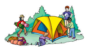Rv Camping Cartoon Clipart 2
