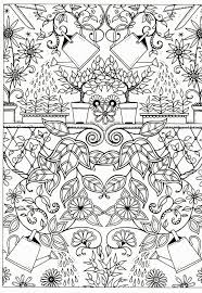 By JOHANNA BASFORD From Secret Garden Free Adult Coloring PagesColoring SheetsColoring