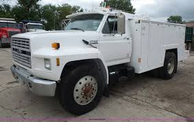100 Service Truck With Crane For Sale 1994 D F700 Service Truck With Crane Item K3559 SOLD