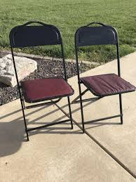 Vintage Metal Folding Chair With Reddish Vinyl Seat - FOUR For ONE Price Flash Fniture Kids White Resin Folding Chair With Vinyl How To Save Yourself Money Diy Patio Repair Aqua Lawn The Best Camping Chairs Travel Leisure Pair Of By Telescope Company Top 14 In 2019 Closeup Check Lavish Home Black Cushion Seat Foldable Set 2 7 Sturdy For Fat People Up To And Beyond 500 Pounds Reweb A 10 Easy Wooden Benches Family Hdyman Wrought Iron Ideas Outdoor Stackable