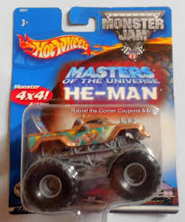 100 Shark Wreak Monster Truck 2002 Hot Wheels HeMan Masters Of The Universe Jam 164