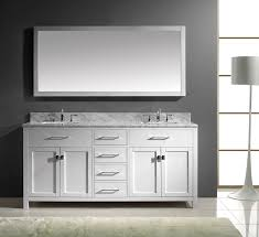 19 Inch Deep Bathroom Vanity Top by Virtu Usa Md 2072 Wmsq Wh Caroline 72 Inch Bathroom Vanity With