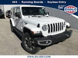 New White 2018 Jeep Wrangler Unlimited Stk# JJ692   Ewald CJDR