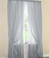 Gray Sheer Curtains Target by Full Height Gray Sheer Curtain In Paola Navone Paris Flat