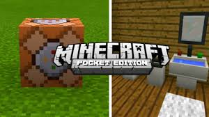 mcpe command block creation only one command minecraft pe 1 1