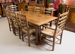 Wonderful Vintage Oak Dining Table And Chairs 49 In Discount Room Sets With