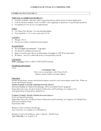 Curriculum Vitae Template Graduate School Psychology Best Resume Sample Diplomatic Regatta And Examples Sradd Of Clinical Psychologist