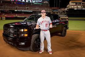 All-Star MVP Mike Trout Chooses Chevy Silverado Over New Camaro ... All American Classic Cars 1950 Chevrolet 3100 Pickup Truck Possible Delay For Nextgen Chevy And Gmc Trucks Motor Trend 10 Things You Need To Know About The New Silverado 95 Octane The 15 About 2019 2016 Detroit Autorama Photo Gallery Allnew Lt Trailboss Revealed Bangshiftcom Of Quagmire Is For Sale Buy Off 2017 1500 Crew Cab 4wd Z71 Star Edition Allnew Was Introduced At An Event Chevys Gets New 3l Duramax Diesel Larger Wheelbase