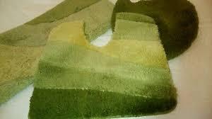 meusch badezimmergarnitur 3teilig grün eur 46 00 picclick de