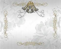 Silver Wedding Bells Clip Art