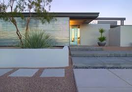 idée aménagement jardin devant maison moderne chic et fonctionnel