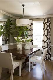 Modern Dining Room Curtains Picture On Fancy Home Designing Styles About Decoration