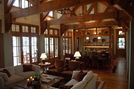 Henry Island Rustic Living Room