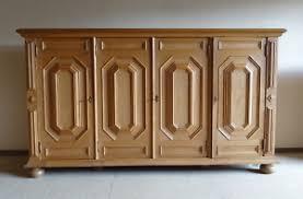 details zu wohnzimmerschrank b 245 cm rustikal fast top zustand eiche highboard sideboard