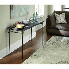 mainstays personal table black walmart com