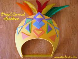 Brazil Carnival Headdress Summer Crafts For Kids At Michaels