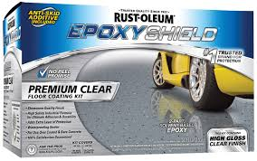 Rust Oleum Epoxyshield Garage Floor Coating Instructions by Rust Oleum Epoxy Shield Premium Clear Coating 225225 Free