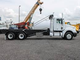 100 Roll Off Truck 2009 FREIGHTLINER COLUMBIA FOR SALE 2589