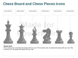 Chess Board Pieces Icons