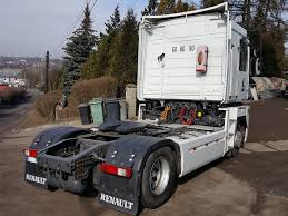 RENAULT DXI 460 MAGNUM MANUAL EURO 5 RETARDER SALONKA Tractor Units ...
