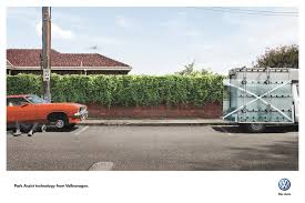 100 Glass Truck Volkswagen Print Advert By DDB Park Assist Technology Car Jack
