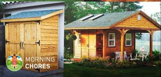 108 free diy storage shed plans and ideas that are easy to build