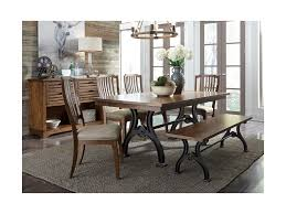 Arlington 6 Piece Trestle Table Set With Bench By Liberty Furniture At  Royal Furniture Arlington End Table Ding Transitional Counter Height With Storage Cabinet By Fniture Of America At Rooms For Less Drop Leaf 2 Side Chairs Patio Ellington Single Pedestal 4 Intercon Black Java 18 Inch Gathering Slat Back Bar Stools Dinette Depot 6 Piece Trestle Set Bench Liberty Pilgrim City Rifes Home Store Northern Virginia Alexandria Fairfax