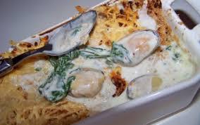 comment cuisiner des moules surgel馥s recette gratin de moules au roquefort 750g