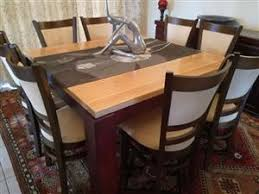 R 15 000 For Sale Cuatom Made 8 Seater Solid Oak Dining Table And Chairs