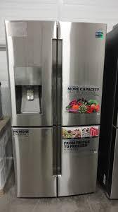 Samsung Counter Depth Refrigerator by 36 Samsung 22 5 Cu Ft 4 Doorflex French Door Refrigerator In Stainl